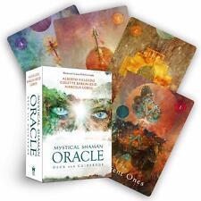DIVINATOIRE COFFRET 64 CARTES + LIVRE 168 PAGES L ORACLE DU CHAMAN MYSTIQUE VEGA