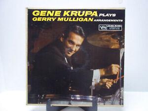 Gene Krupa Plays Gerry Mulligan Arrangements LP Vinyl Verve Records