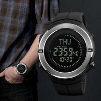 Skmei Hombres LED Digital Alarma Fecha Militar SPORTS Impermeable Cuarzo Reloj