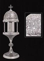 Reliquiar Muster, Ancient  Reliquary. Reliquario Modello Antico cm. 18 x h 58