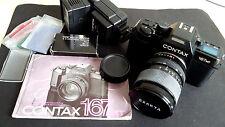 CONTAX 167 MT- Spiegelreflexkamera- Contax 167MT- EXAKTA Objektiv 28-70 mm-Bliz