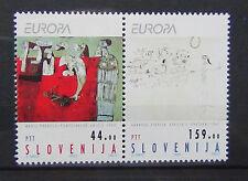 Slovenia 1993 Europa Contemporary Art set MNH