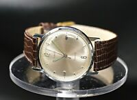 VINTAGE TIMEX ELETRIC FRANCE CHROME PLATED STAINLESS STEEL MEN'S WATCH