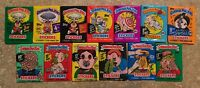 1986-88 Garbage Pail Kids 13-Unopened Wax Pack Lot 3rd-15th Series-NICE LOT! TWT