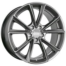 MAM A5 8x19 5x112 ET45 PP palladium painted Alufelge MAMA5 Audi A4 A6 Mercedes