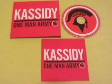 Kassidy One Man Army 2012 CD Album Indie Folk World Rock