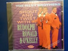 THE. ISLEY. BROTHERS.        SHOUT. AND.TWIST.             ACE.  RECORDS.