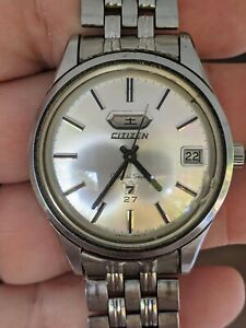 Vintage '66 Citizen Crystal Seven 27J Monocoque Watch, JDM, Orig Band, ParaWater