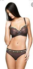 Freya Daisy Plunge Bra Bourneville  Brown  34E BNWT RRP £26 knickers size 10 new