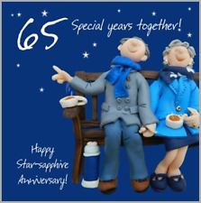 65th Wedding Anniversary Card