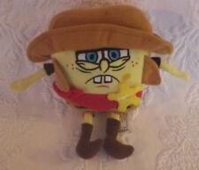 "Sheriff Spongebob Squarepants Nanco 2006 Toy Plush Stuffed Animal 7"""