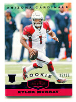 KYLER MURRAY 2019 Panini Plates & Patches Purple Rookie Cardinals RC SP 25/35