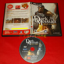 DARK MESSIAH MIGHT AND MAGIC PC Versione Italiana Editoriale ○ USATO - E4
