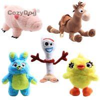 Toy Story 4 Forky Ducky Bunny Hamm Bullseye Plush Toys Stuffed Doll High Quality