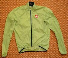 Castelli, Mens long sleeve Bike thin jacket, Size Large
