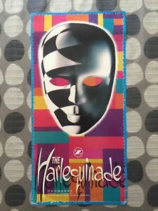 Rezerection Presents The Harlequinade New Years Eve 1992 Rave Flyer Flyers
