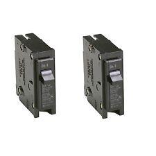 2x Eaton 30-Amp Single-Pole Fuse-Box Trip Bryant Br Circuit-Breaker Switch Br130