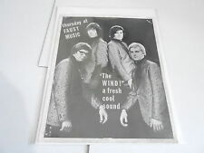 #868 VINTAGE 8x10 MUSICIAN PHOTO - THE WIND - FAUST MUSIC