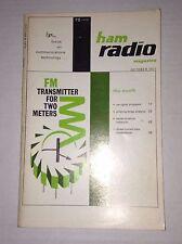 Ham Radio Magazine CW Signal Processor October 1971 121816rh