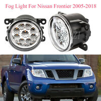 Andifany Front Fog Light Cover Abs Chrome for Navara//Frontier D40 07-13