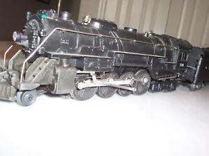 Lionel #736 Steam Engine w/2646w Tender & smoke fluid