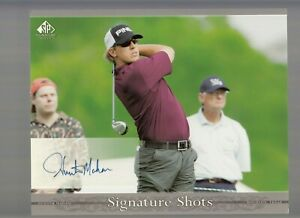 Hunter Mahan 2005 Upper Deck SP Signature Golf Signed Autographed 8X10 Photo