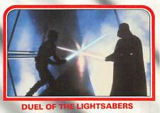 1980 Topps Star Wars ESB #107 Duel Of The Lightsabers > Darth Vader Vs Luke