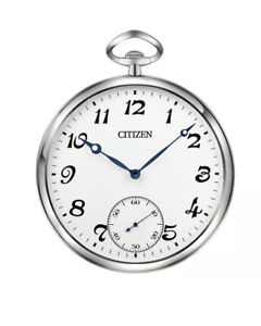 "NEW 17""  CITIZEN  GALLERY WALL CLOCK QUARTZ IN SILVER CC2029"