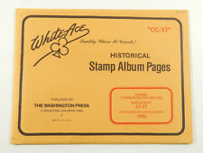 White Ace Canada Commemorative Singles Supplement CC-37 1992 Stamp Album Pages