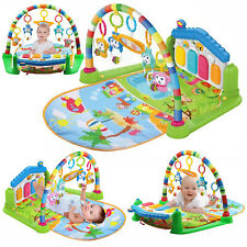 3 in1 Fitness Music Baby Play Mat Lay and Kids Gym Play-mat Fun Piano Boys Girls