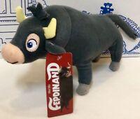 "New FERDINAND Movie Bull Plush Stuffed Animal Toy Factory Doll John Cena 9"" NWT"