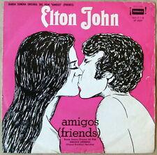 """ELTON JOHN Friends OST 7"""" PS SOUTHAMERICA Unique DIFFERENT Cover"""