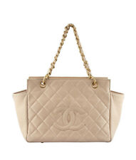 Chanel Timeless Shopper Pink Quilted Leather Tote