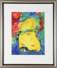 """Lithographie """"romantische Komposition"""",signiert hinter Glas gerahmt 1998  /#102"""