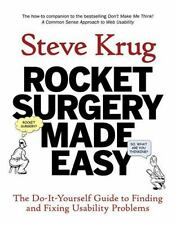 Rocket Surgery Made Easy: The Do-It-Yourself Guide to Finding and-ExLibrary