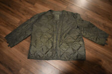 New Us Military Cold Weather M65 Field Jacket Coat Liner Quilted - Small
