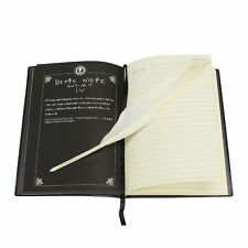 New Death Note Cosplay Notebook & Feather Pen Book Anime Writing Halloween Gift