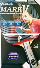 Yasaka MARK V Racket, Flared Handle (FL) Champion Line for Table Tennis