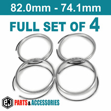82.0 - 74.1 spigot anneaux hub anneaux ensemble complet bbs roues en aluminium bmw anneaux