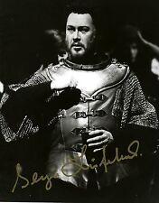 SERGEI LEIFERKUS opera baritone signed photo as Iago at the MET