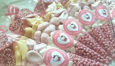 Pre Lleno Bolsas Fiesta conos dulce Hello Kitty Para Niños Cumpleaños Personalizado