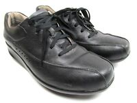 Aravon  New Balance Laney Womens Black Leather Lace Up Oxfords Size 9.5 B