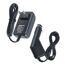 Car Charger + AC Power Adapter for LA-520 Mains 10.1 Google Android Tablet PC