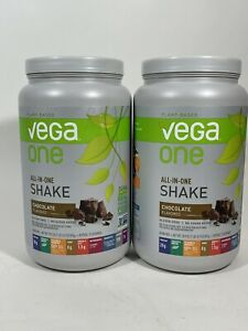 2Vega One All-In-One Nutritional Shake Chocolate 19 Servings Plant Based 30.9 Oz