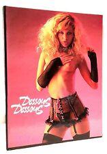 Dessous Dessous Pink Star  Hot Line Paris  1989