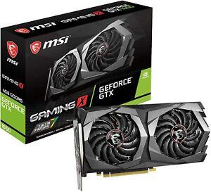 MSI Gaming GeForce GTX 1650 4GB Dual Fan GTX 1650 GAMING X 4G Graphics Card