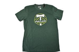 adidas MLS Mens Portland Timbers Soccer Aeronknit Climacool Shirt NWT S, M, L