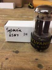 Sylvania 6Sn7 Electronic (Vacuum) Tube (Nos) Generic Box