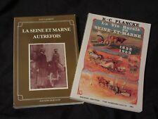 77. SEINE & MARNE d'AUTREFOIS / 2 titres