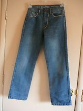 Girl's Jean's Ring of Fire Sz 14 Slim NWOT Distressed Blue Button Back Pockets